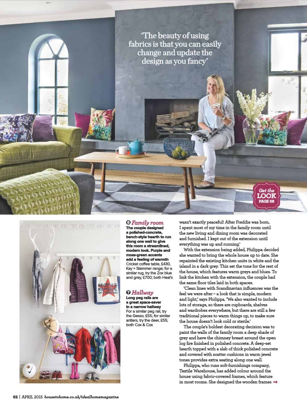 Ideal Home Magazine Feature 1