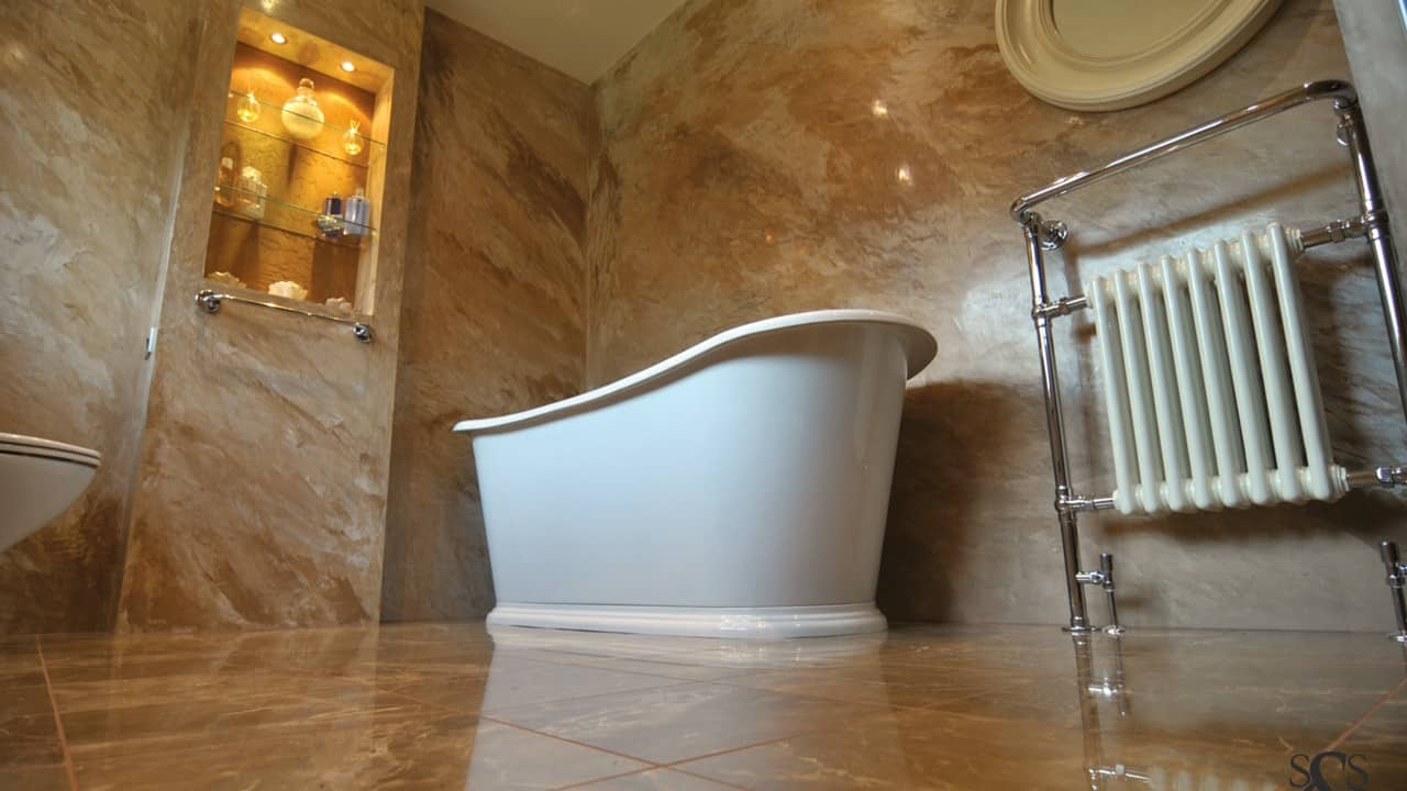 Polished Plaster Bathrooms 4