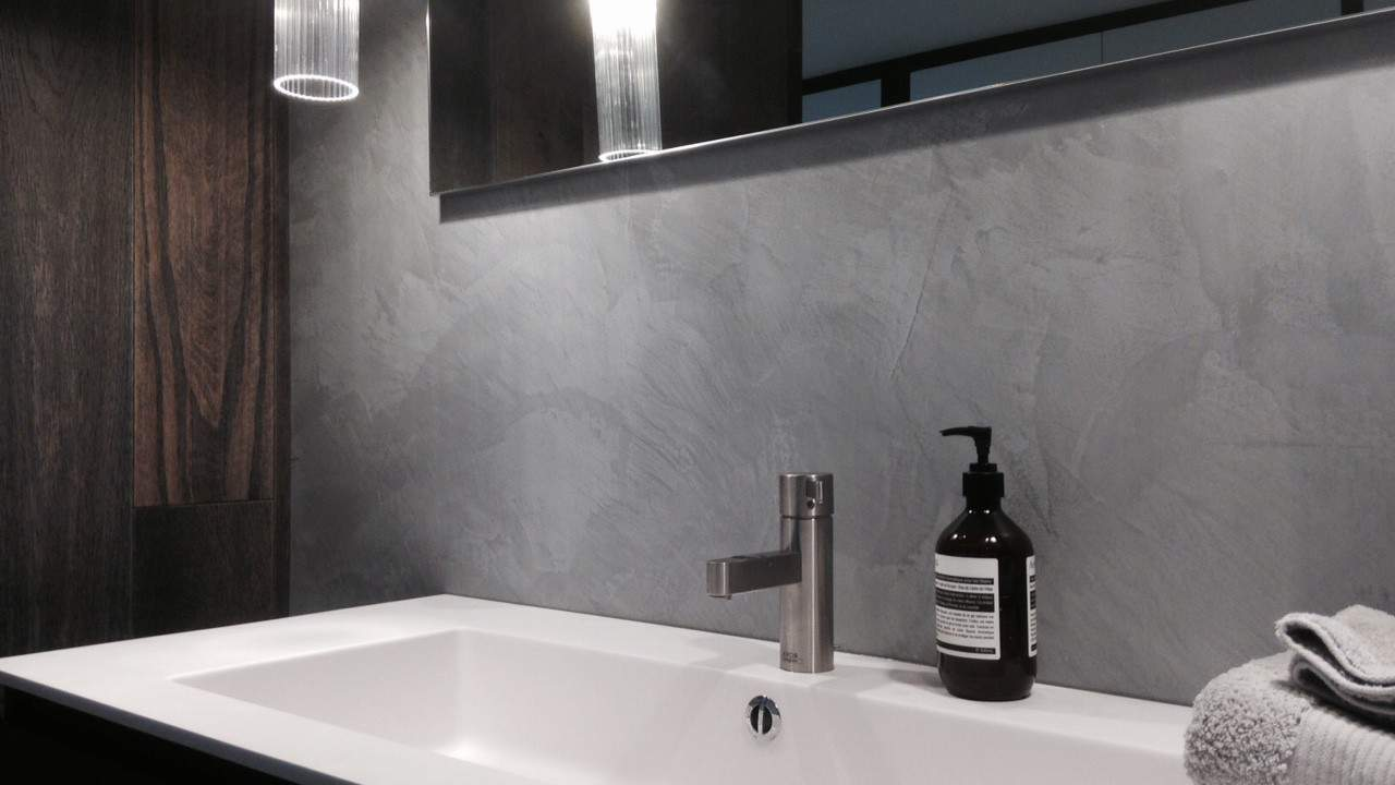 Polished Plaster Bathrooms 7